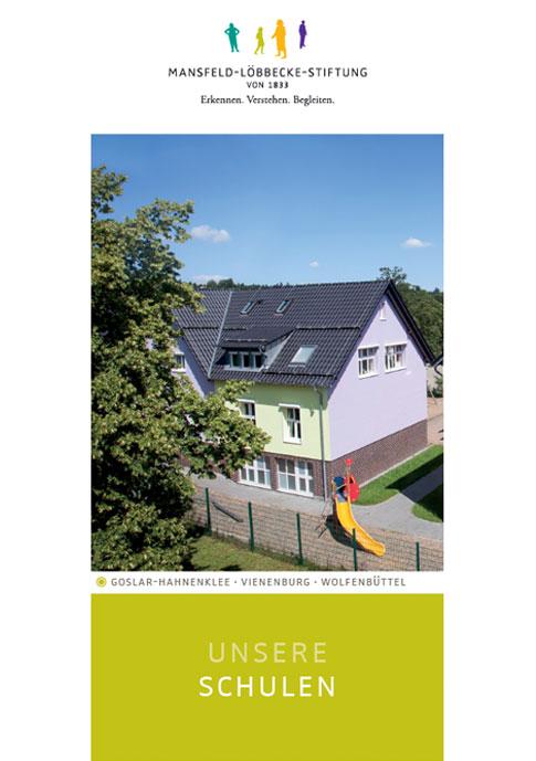 """Vorschaubild Broschüre """"Unsere Schulen"""""""