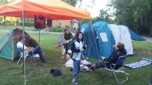 "Campingplatz ""Eau Rouge"""
