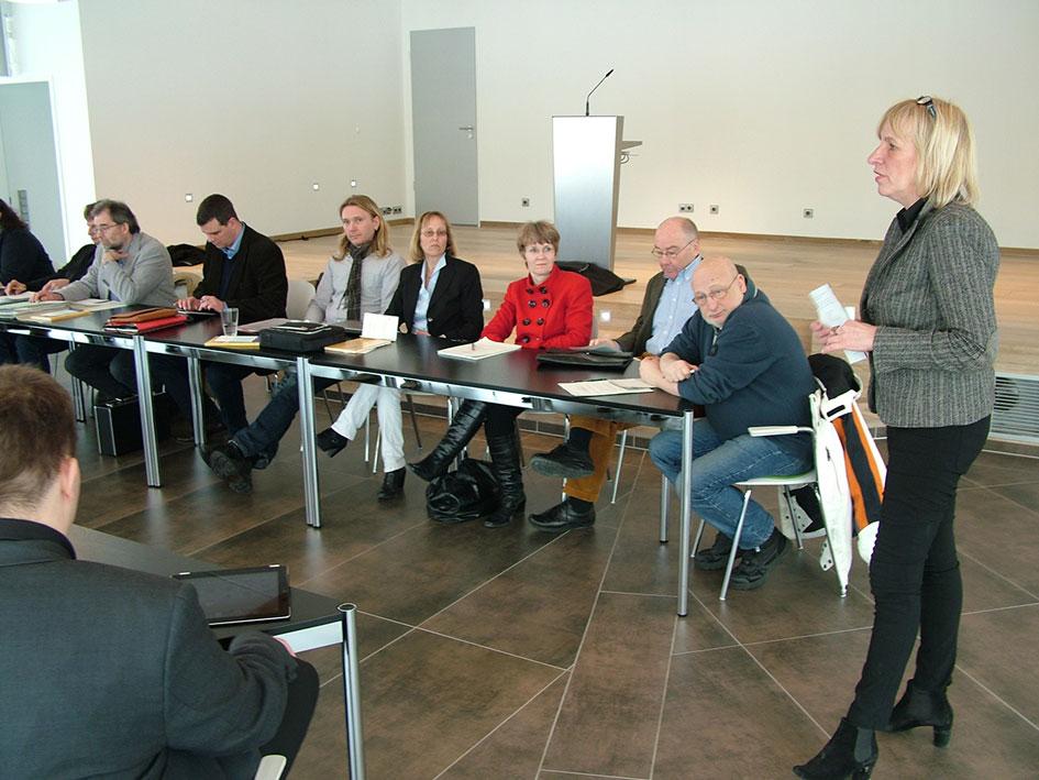 Wirtschaftsausschuss Tagung - Titelbild