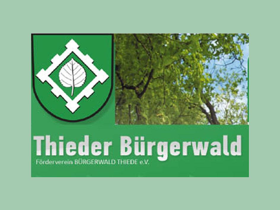 Thieder Bürgerwald - Logo