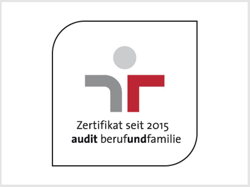 Zertifikat Beruf und Familie - Mansfeld-Löbbecke-Stiftung