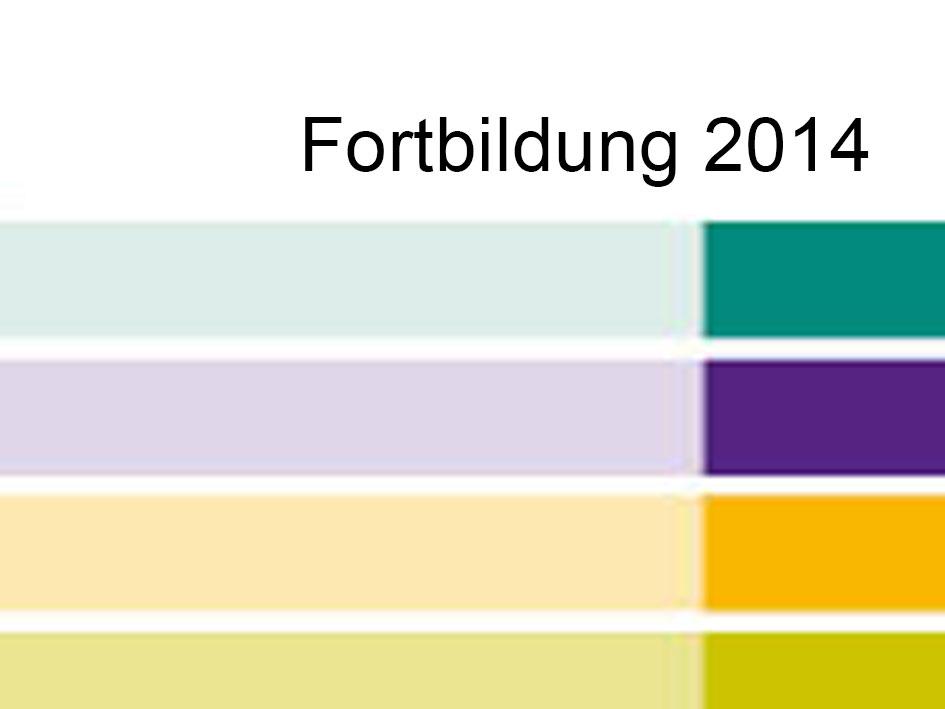 Fortbildung 2014 - Programm - Titel