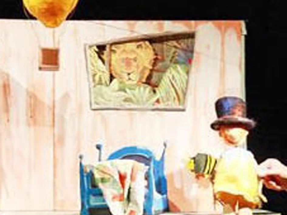 Jakobs Zauberhut - Bühne