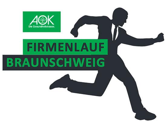 Logo AOK FIrmenlauf Braunschweig