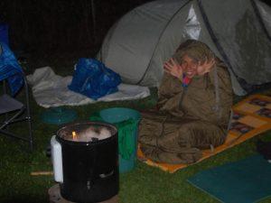 Im Nachtlager