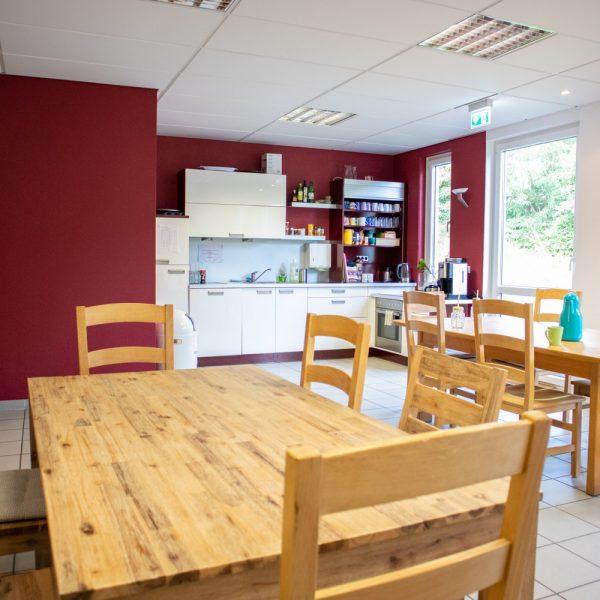 Cafeteria in der Amalie-Löbbecke-Schule